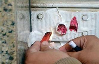 غلق وتشميع 4 مقاهِ ومصادرة 21 شيشة فى قطور بالغربية