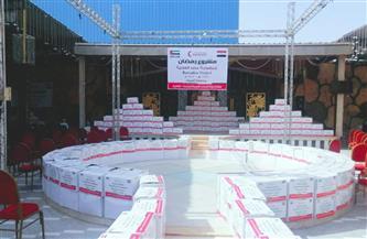 تعاون بين الهلال الأحمر الإماراتي وجمعية الأورمان لتوفير مواد غذائية للفقراء في 4 محافظات|صور