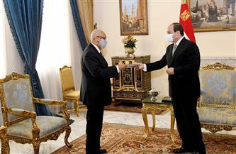 الرئيس السيسي يستقبل وزير خارجية جمهورية مالي