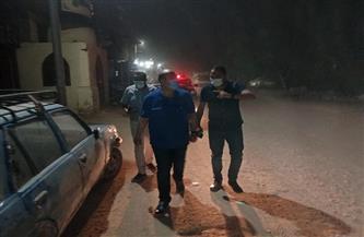 محافظة الجيزة تشن حملة نظافة ليلية بأبوالنمرس | صور
