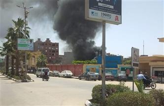 السيطرة على حريق محدود نشب بمستشفى الأقصر الدولي | صور