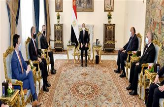 الرئيس السيسي يؤكد النهج المرن لمصر في التعامل مع قضية سد النهضة