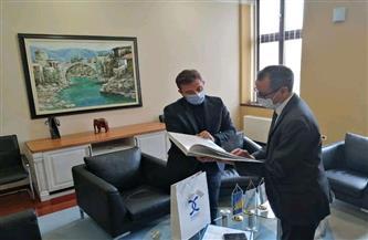 سفير مصر بالبوسنة: القيادة السياسية في مصر تُولي اهتمامًا كبيرًا بالشباب وتمكينهم وبناء قدراتهم | صور