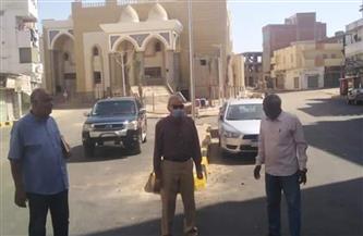 رئيس مدينة الغردقة يتفقد أعمال التطوير بالمدينة | صور