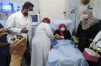 الفرق الطبية تستكمل تطعيم مرضى الغسيل الكلوي بلقاح كورونا بمستشفيات البحر الأحمر | صور