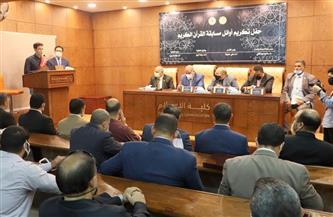 رئيس جامعة الأزهر يقرر إعفاء الطلاب المتميزين في حفظ القرآن من المصروفات الدراسية | صور