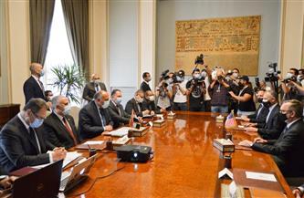 وزيرا الخارجية والري: مصر مازالت تأمل في التوصل لاتفاق حول سد النهضة قبل صيف العام الجاري | صور