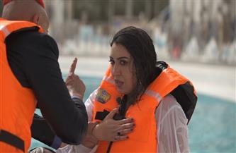 صراخ وانهيار أسما لمنور في «رامز عقله طار» | فيديو
