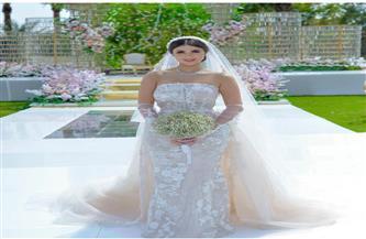 هدى الإتربي: «أحلى حاجة في التمثيل إنك ممكن تكوني عروسة من غير ما تتجوزي بجد»