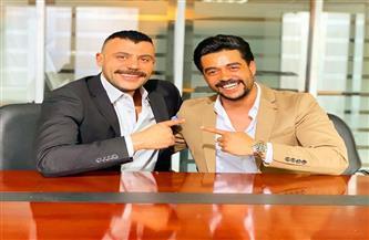 """محمد إمام  : خالد أنور  كان""""مفاجأة"""" وأبدع  في """"النمر"""""""