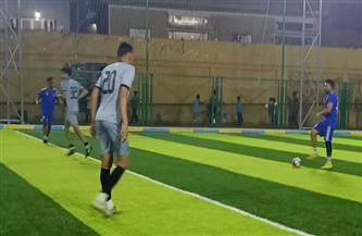 19 هدفا في مباراة واحدة بدور الثمانية لكأس مصر للميني فوتبول