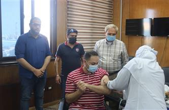 مياه مطروح: إجراءات ميسرة لتلقي العاملين لقاح فيروس كورونا بالتنسيق مع مديرية الصحة