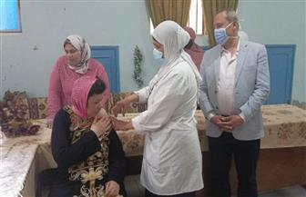 صحة الدقهلية تبدأ تطعيم نزلاء مؤسسة كبار السن في نبروه| صور