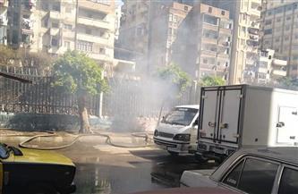 السيطرة على حريق محدود بحرم السكة الحديد في الإسكندرية