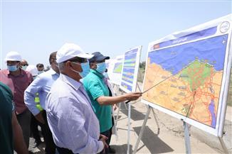 وزير النقل يتابع خطة رفع كفاءة الطريق الدولي الساحلي| صور