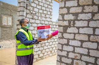 صندوق تحيا مصر يوفر 75 طن مواد غذائية لـ 4100 أسرة بالإسماعيلية| صور