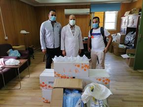 مبادرة «رفقاء الخير» تدعم المستشفى الجامعي بسوهاج