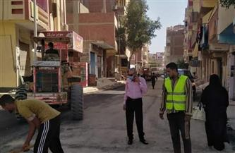 رئيس مدينة الغردقة يتفقد أعمال التطوير بشارع السلام | صور