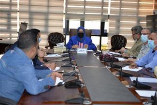 محافظة الدقهلية تعقد اجتماعًا لتحديد المساحة المزروعة أرزًا