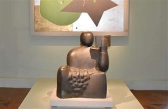 مواعيد زيارة معرض آدم حنين في مجمع الفنون | صور
