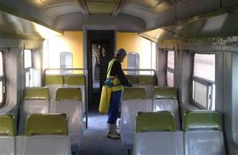 """استمرار أعمال التطهير والتعقيم في """"السكة الحديد"""" لحماية المستخدمين من كورونا"""