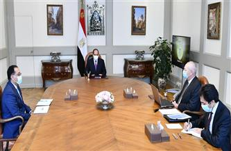الرئيس السيسي يطلع على الموقف التنفيذي للمشروعات الحالية والمستقبلية بالمنطقة الاقتصادية لقناة السويس