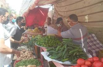 حملة موسعة على سوق الخضار بالقصير | صور