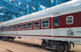 السكة الحديد تعدل تركيب بعض القطارات على خطي (القاهرة / الإسكندرية) و (القاهرة / بورسعيد) لعربات محسنة