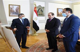الرئيس السيسي يطلع على مشروعات تطوير قناة السويس ونتائج تحقيقات حادثة جنوح «إيفرجرين»