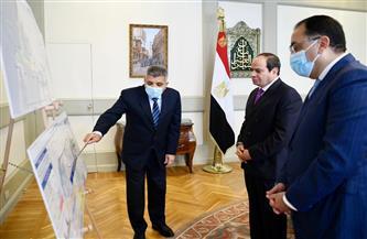 الرئيس السيسي يعرب عن تقديره للإدارة الناجحة لأزمة جنوح السفينة