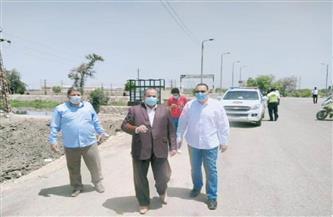 محافظ الشرقية يتفقد أعمال تطوير محطة مياه كفر صقر |صور