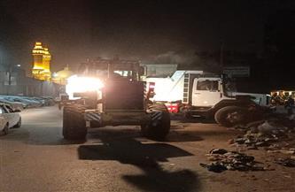 إزالة 700 طن قمامة من حي شرق شبرا الخيمة | صور