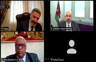 بعثة مصر بجنيف تنظم حلقة نقاشية حول «الإطار القانوني لعمل المجتمع المدني»| صور