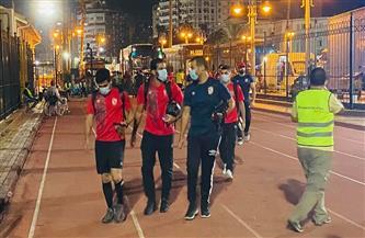 الأهلي يصل إلى إستاد الإسكندرية استعدادًا لمباراة الاتحاد
