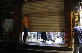 حملة مسائية لتفعيل الضبطية القضائية ومتابعة تنفيذ إغلاق المحلات برأس غارب