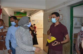 نائب محافظ الوادي الجديد توجه بالتحقيق العاجل مع مسئولى مستشفى الخارجة العام |صور