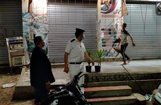 حملات موسعة لمتابعة تطبيق قرارات رئاسة الوزراء بغلق المحلات والمطاعم بالمنوفية |صور