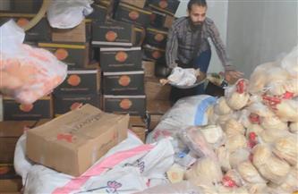 تحرير 7 محاضر وإعدام أغذية غير صالحة في حملة على منشآت في المنصورة  صور