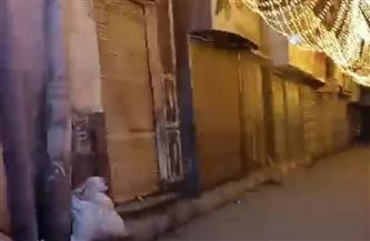 حملات فى مدن قنا لغلق المحلات والمقاهى وتطبيق الإجراءات الاحترازية
