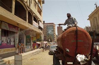 حملة تطهير وتعقيم واسعة بشوارع ومنشآت ومصالح مدينة دسوق بكفرالشيخ |صور
