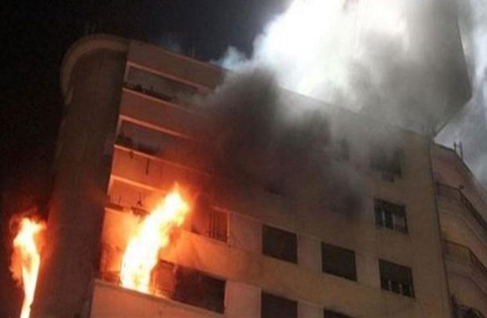 مصرع شخص أثناء مشاركته في إخماد حريق بشقة جيرانه بالهرم