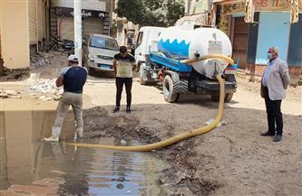 رئيس شركة مياه المنوفية يتابع ميدانيا أعمال الإصلاح بشبين الكوم| صور