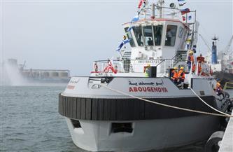 """تعرف على القاطرة """"أبو جندية"""" التي تسلمها ميناء دمياط اليوم بحضور وزير النقل"""