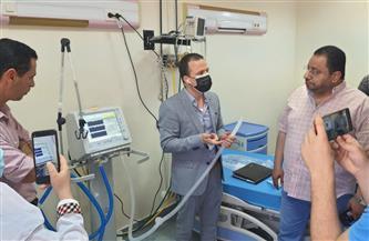 5 أجهزة تنفس صناعي تصل إلى مستشفى بلقاس المركزي بتكلفة 1.2 مليون جنيه| صور
