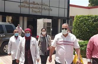 سكرتير مساعد المحافظة يزور مستشفيات الصدر والحميات بحيي شرق وغرب أسيوط| صور