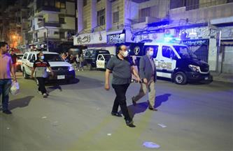 تحرير 100 محضر لأصحاب محلات ومقاهٍ خالفوا مواعيد الغلق في كفر الشيخ  صور