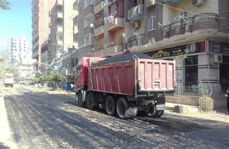 محافظ أسيوط: استمرار الرصف ورفع كفاءة شوارع ديروط| صور
