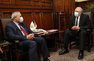 وزير الزراعة يستقبل الممثل الإقليمي للفاو بمنطقة الشرق الأدنى وشمال إفريقيا