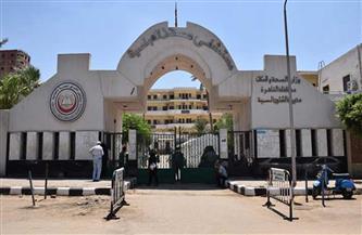 رفع كفاءة ونظافة محيط مستشفى الصدر غرب مدينة نصر
