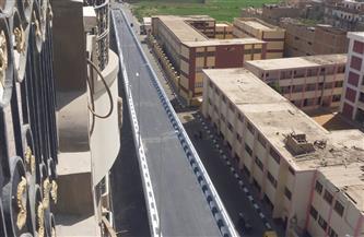 وزير النقل يعلن التشغيل التجريبي لكوبرى جرجا أعلى السكة الحديد بسوهاج  أمام حركة المرور